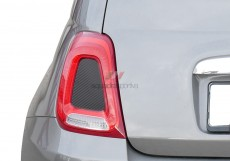 Rear Light Insert Stickers - Carbonio