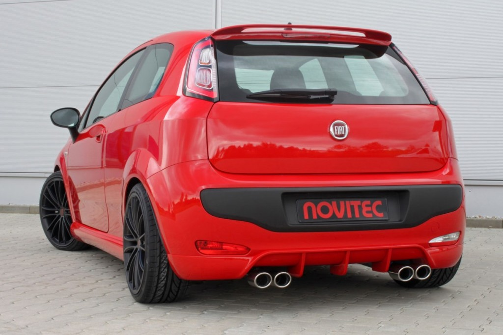 Novitec Rear Bumper Spoiler Fiat Tuning Amp Styling Fiat