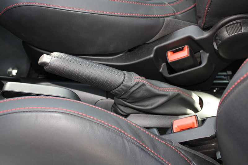Handbrake Lever Leather Boot Nero Fiat Tuning Amp Styling
