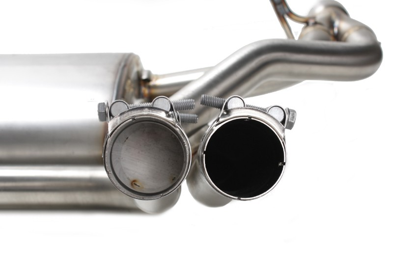 Akrapovic Slip-On Line Stainless Steel Rear Silencer - Fiat Tuning