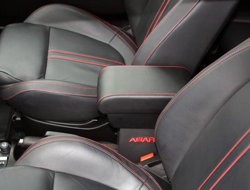 Black Leder Mittelarmlehne Fiat Tuning Amp Styling Fiat