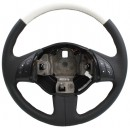 Fiat 500 Gucci Leather Steering Wheel Black/White