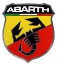 Abarth Plaque Scudetto 'Gigante' Silver Look
