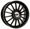Rim Monza RS - Racing Black With White Border